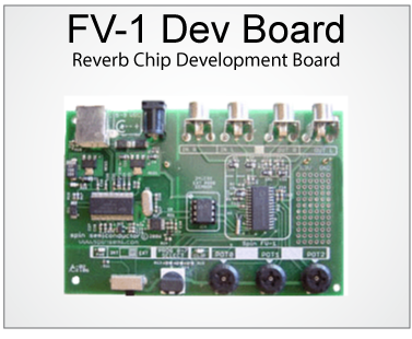 FV-1 Reverb Effects Chip from Spin Semiconductor